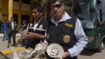 Así fue la incautación de 166 piezas paleontológicas en Cusco - Noticias de incautaciones