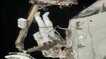 Dos astronautas reparan la computadora en la Estación Espacial - Noticias de rick mastracchio