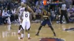 NBA: mira este espectacular triple con una sola mano - Noticias de roy hibbert