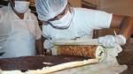 Trujillo tiene el pionono de ciruela más largo del mundo - Noticias de récord guiness