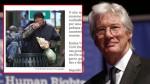 Confunden a Richard Gere con indigente y le regalan una pizza - Noticias de indigentes