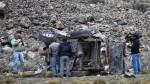 Tres personas murieron tras choque entre combi y auto en Huaraz - Noticias de huaylas