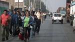 Chofer abandona a pasajeros para evitar ser multado - Noticias de huamachuco