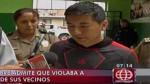 San Juan de Lurigancho: cae sujeto que violó a niña de 5 años - Noticias de san juan de lurigancho violaba