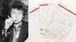 "Subastan manuscrito de ""Like a Rolling Stone"" de Bob Dylan - Noticias de joni mitchell"