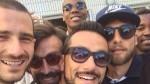 Juventus: el selfie de los campeones tras la derrota de la Roma - Noticias de fabio quagliarella