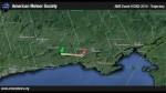 Mira a un meteoro cruzando el cielo de Canadá a pleno día - Noticias de meteoro
