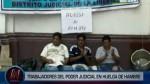Trabajadores del PJ inician huelga de hambre contra Ley Servir - Noticias de ley del servicio civil