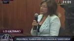 Matilde Pinchi Pinchi: Fujimori sabía sobre los diarios chicha - Noticias de augusto bresani