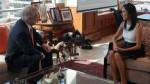 Nadine Heredia también se reunió con Piñera en Santiago - Noticias de canciller alfredo moreno