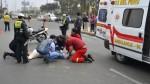 Más de 30 peatones fueron atropellados en primeros días de mayo - Noticias de menores infractores