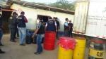 Incautan combustible y productos de contrabando del Ecuador - Noticias de incautaciones