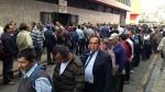 Largas colas tras reinicio de actividades en el Poder Judicial - Noticias de ley servir