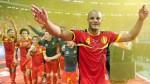 Bélgica: Kompany, Hazard y Courtois lideran lista de 24 - Noticias de anthony vanden borre