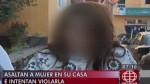 Fue asaltada, golpeada y agredida sexualmente en su propia casa - Noticias de violaciones sexuales