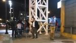 Estructura metálica impide paso de peatones en Surquillo - Noticias de obras inconclusas