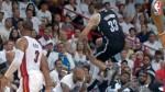 Casi genera pelea por saltar encima de los jugadores del Heat - Noticias de jason kidd