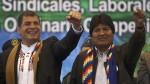 Rafael Correa aboga en Chile por salida al mar para Bolivia - Noticias de santiago correa