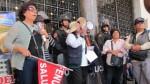 Trabajadores del Minsa irrumpieron en Palacio Municipal - Noticias de fenutssa