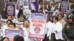 Huelga médica: Gremios anuncian marcha hoy al Congreso - Noticias de federación médica del perú