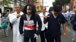 Huelga médica: marcha solo llegará hasta Parque Universitario - Noticias de fenutssa