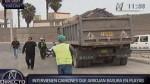 Sancionan a camiones que arrojan desmonte en playas del Callao - Noticias de sarita colonia