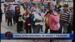 Simulacro pasó desapercibido en el Hospital del Niño - Noticias de simulacro