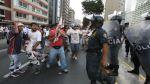 Barristas causaron desmanes antes del clásico U vs. Alianza - Noticias de puente atocongo