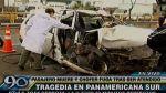 Un muerto dejó el choque de un taxi en la Panamericana Sur - Noticias de puente alipio ponce