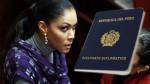¿Cenaida Uribe hizo mal uso de su pase diplomático? - Noticias de alfonso ugarte lizandro quispe