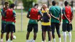Camerún olvidó a dos jugadores en el hotel antes de entrenar - Noticias de viajes a brasil