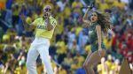 Brasil 2014: Jennifer López y Pitbull cantaron en el Mundial - Noticias de claudia leitte